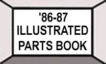 1986-87 Buick G-Body Illustrated Parts Catalog - Index