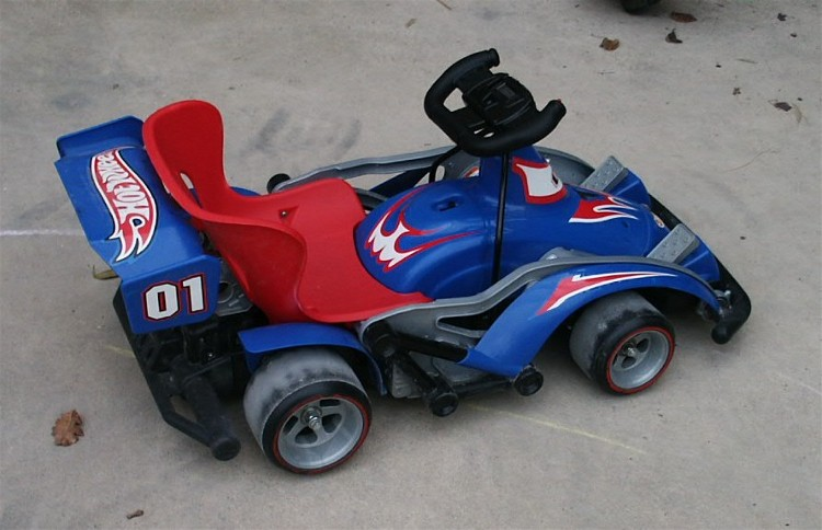 12 MPH, NITROX² equipped Rally Kart