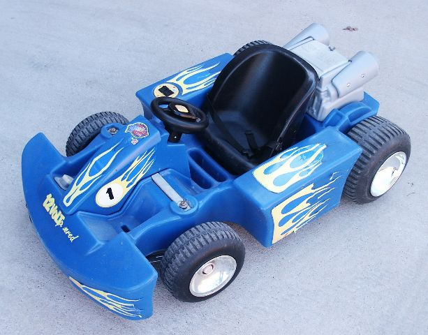 These Go Karts look cool, but they will get embarassed by a stock Power Wheel... No More!